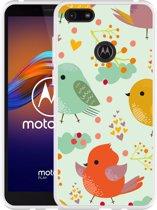 Motorola Moto E6 Play Hoesje Cute Birds