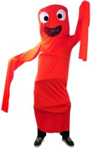 Funny windsock rood voor kind one size