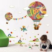 Inrichting Babykamer Jongen.Bol Com Muursticker Dieren In Het Bos Wanddecoratie Kinderkamer