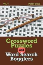 Crossword Puzzles and Word Search Bogglers Vol. 4