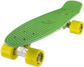 Penny Skateboard Ridge Retro Skateboard Green/Yellow