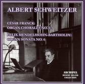 Franck: Organ Chorales, Mendelssohn: Organ Sonata