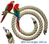 Jungle sisal touw  Ø 50 mm & 300cm lang (vogel touw )