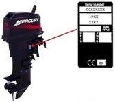 Mercury zuiger 3cil 65/80jet 94-98, 75/90 pk 94-02, 100/115/125 pk 4cil 94-04 (REC2704-821896A4)