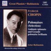 Polonaises (Selection) (Rubinstein) (1934-1935)