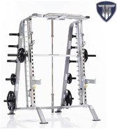 Tuff Stuff Basic Smith Machine/Half Cage Combo met Safety Stoppers