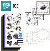 Stitch and Do 6 - Viooltjes