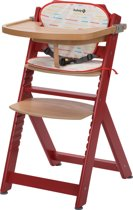 Safety 1st Timba with Cushion - Red Rasberry Wood/Red Lines - 2019