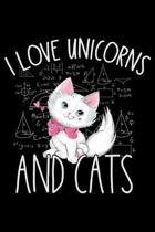 I Love Unicorns and Cats: Cat lovers Prayer Journal, My daily prayer journal, Keeping a prayer journal with 100 pages, Awesome Prayer journal fo