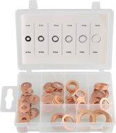 Ringenset Koper 80 delig O Ringen set in stevige box