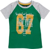 Blue Seven Jongens T-shirt - Groen - Maat 116