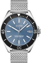 BOSS HB1513561 horloge heren - zilver - edelstaal