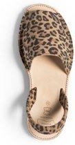 Menorquina-spaanse sandalen-avarca-panter-dames-maat 41