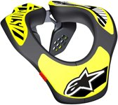 AL Youth Neck Support-Black Yellow Fluo-OS