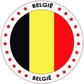 België Bierviltjes - Zwart/Geel/Rood