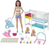 Barbie Babysitter Skipper Kinderspeelkamer Speelset - Barbiepop
