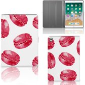 Apple iPad 9.7 (2018) Tablet Stand Case Pink Macarons