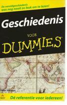 Voor Dummies - Geschiedenis voor Dummies