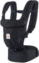 Ergobaby Adapt - Black - ergonomische draagzak vanaf de geboorte zonder verkleinkussen