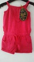Knot so Bad-jumpsuit-kleur: roze-maat 98