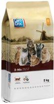 Carocroc Kat 3-Mix - Kattenvoer - 2 kg