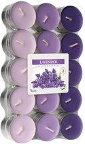 Cosy & Trendy - geur theelichten lavendel (30 stuks)
