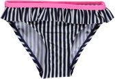 Lentiggini  Swimwear Meisjes Zwembroek Navy streep Neon - 110