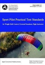 Sport Pilot Practical Test Standards - Weight Shift Control, Powered Parachute, Flight Instructor