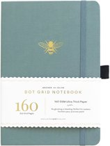 Archer & Olive Notitieboek A5 Dotted - Vintage Bee