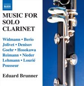 Music For Solo Clarinet