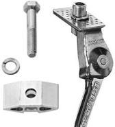 Esge Standaard enkel 325 plaat aluminium 28 inch 29mm zilver
