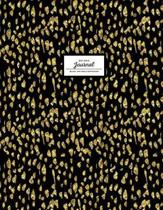 Dot Grid Journal - Black and Gold Softcover