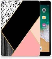iPad Pro 10.5 Uniek Tablethoesje Black Pink Shapes