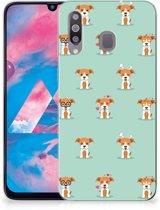 Samsung Galaxy M30 TPU Siliconen Hoesje Pups