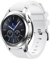Sportbandje Wit geschikt voor Samsung GEAR S3 & Galaxy Watch 46mm - SmartphoneClip.nl