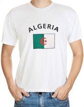 Algeria t-shirt met vlag M