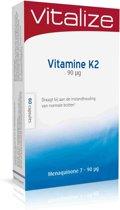 Vitalize vitamine k2 caps 60 st