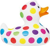 Luxury MINI POP DOT DUCK van Bud Duck: Mooiste Design badeend ter Wereld