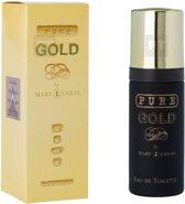4 x Pure Gold - Eau de Toilette - 50ml - Milton Lloyd - Heren