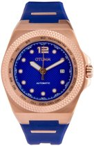 Automatic Model A Rose Gold 45mm Blue