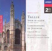 Tallis: Spem in Alium, Lamentations / King's College Choir
