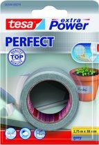 Tesa Extra Power Perfect Tape - Grijs - 2,75 m x 38 mm
