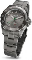 Tutti Milano  TM900STP- Horloge - 42 mm - Taupe - Collectie Corallo