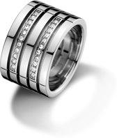 Tommy Hilfiger TJ2701026 Ring - Zilverkleurig