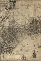 A new plan of ye great town of Boston in New England in America with the many additionall buildings & new streets, to the year, 1769 - A Poetose Notebook / Journal / Diary (50 pages/25 sheets)