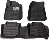 Zwart Full-Encased Non-slip Car Floor Mat Liner Waterdichte Mat Voor Honda Accord 2013-2016