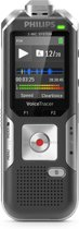 Philips Voice Tracer DVT6010 Flashkaart Antraciet, Zilver dictaphone