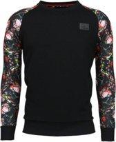 Rozen Skull Arm Motief - Sweater - Maten: