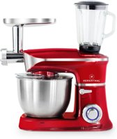 Herenthal Professionele - Keukenmachine - Rood met Led