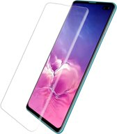 Screenprotector tempered glass voor Galaxy S10 Plus - Transparant